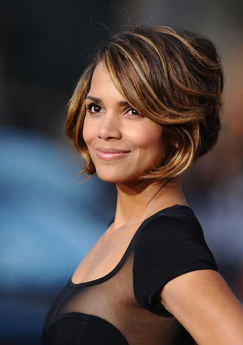 Halle Berry Bob Hair