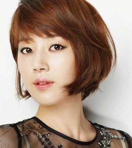 Han Ji-hye Bob Hair