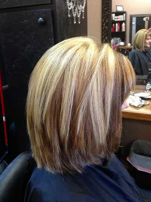 Long Bob Hairstyle with Layers