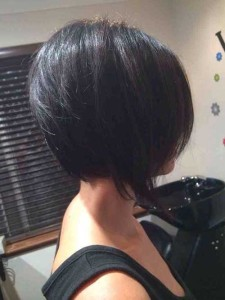 Inverted Straight Bob Back View