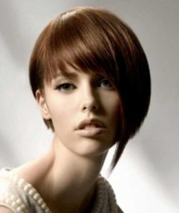 Inverted Bob Hair for Long Faces