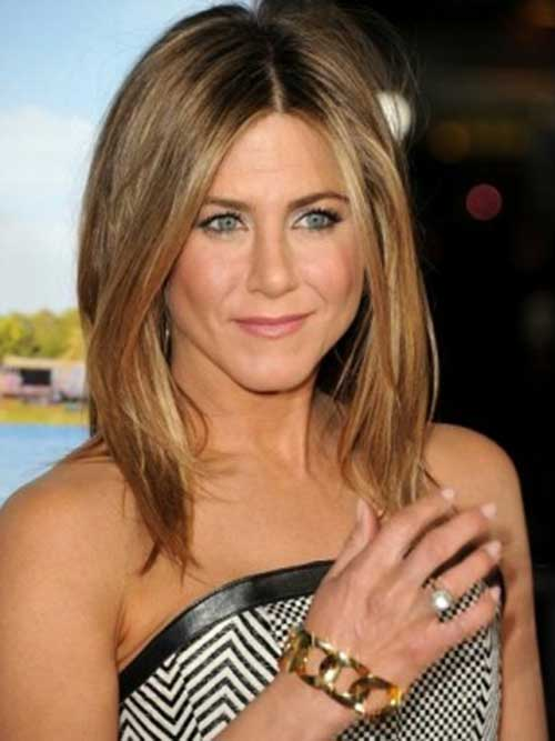 Jennifer Aniston Long Bob Cut Hair