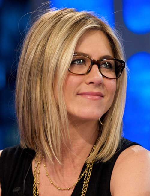 Jennifer Aniston Cute Long Bob Hair