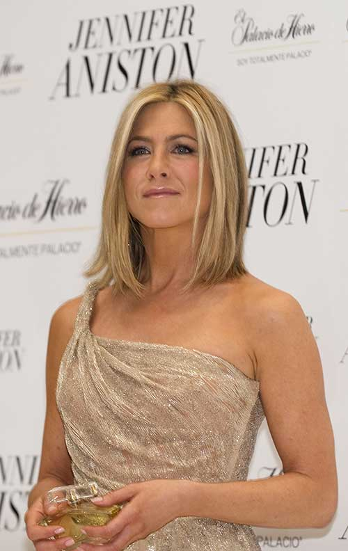 Jennifer Aniston Nice Long Bob Hair
