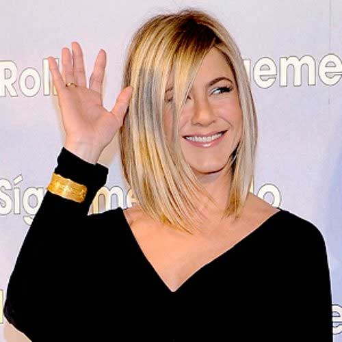 Jennifer Aniston Trendy Bob Hairstyles