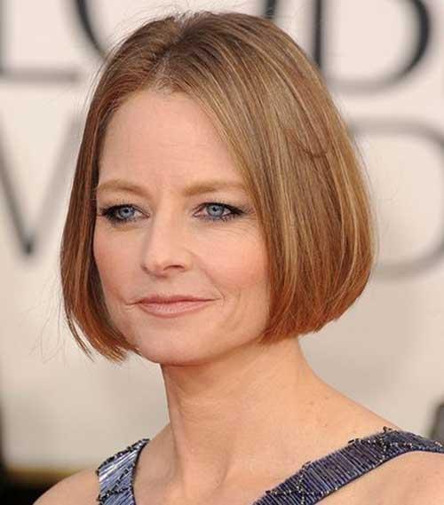 Jodie Foster Bob Hairstyles