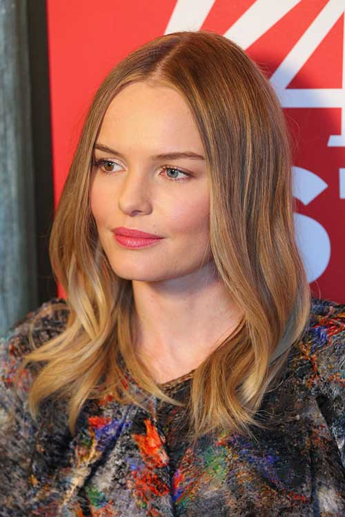 Kate Bosworth Fine Long Bob Hair