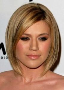 Kelly Clarkson Bob Hair