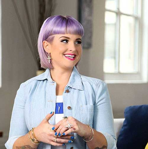 Kelly Osbourne Bob Hairstyles 2014-2015