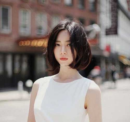 Korean Dark Bob Hair