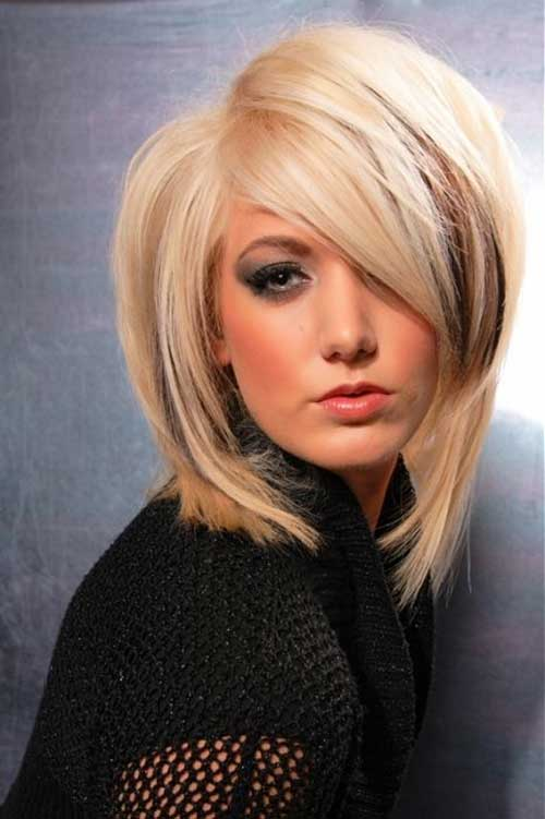 Layered Medium Bob Hair Images