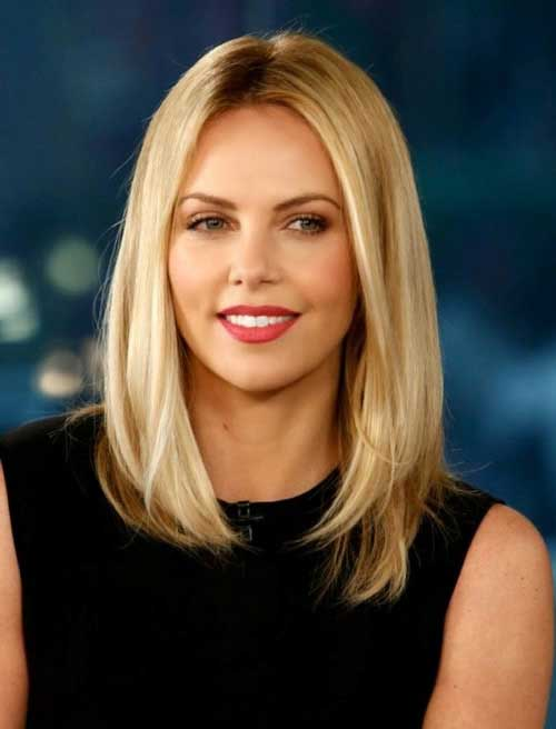 Long Blonde Bob Trendy Hair