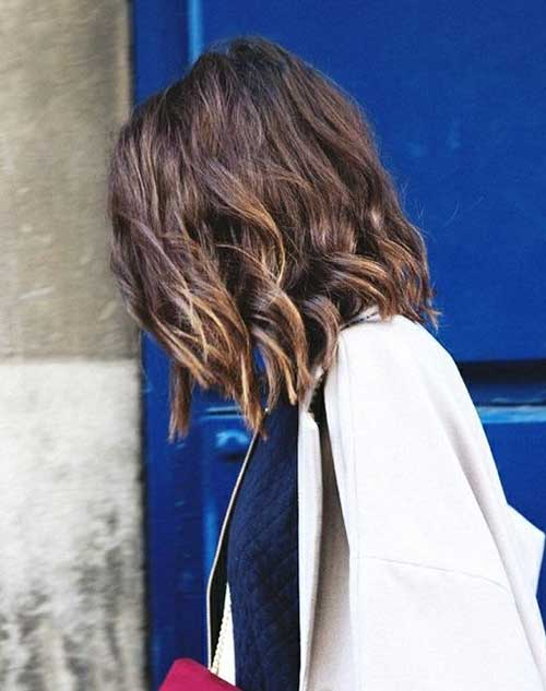 Long Layered Beachy Waves Bobs