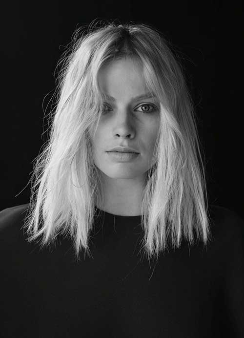Margot Robbie Long Bob Fine Hair