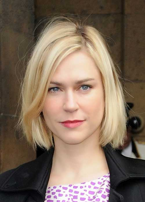 Medium Length Blonde Hairstyles Oval Face Style