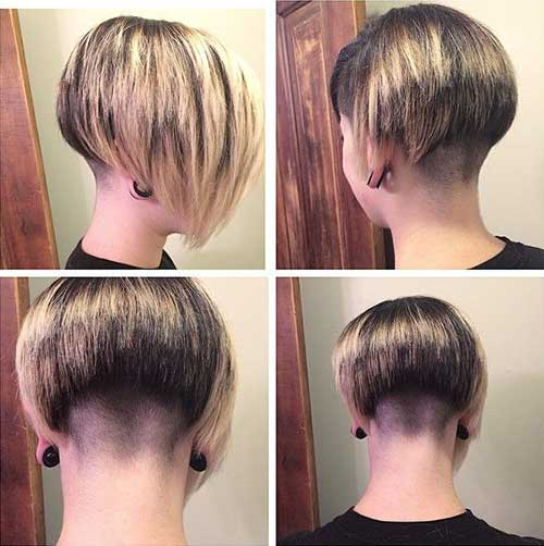 Nape Shaved Bob Hairstyles Ideas