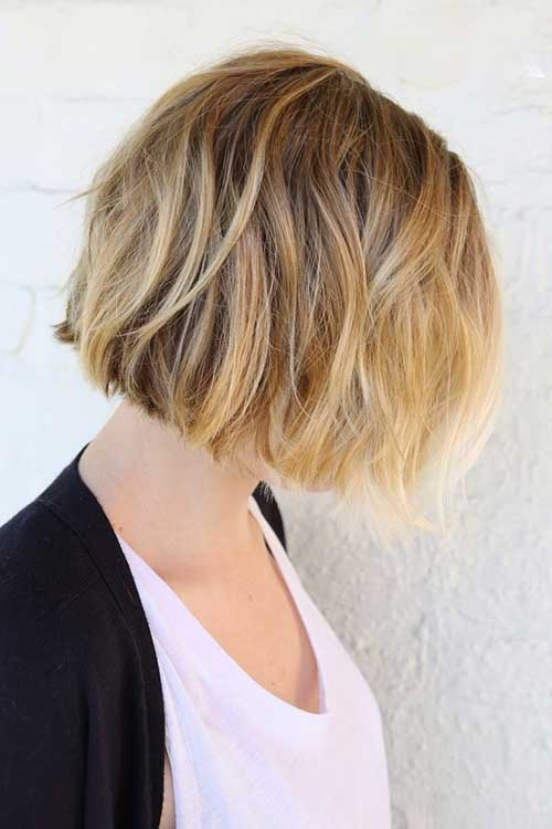 Ombre Hair Short Bob Hairstyles
