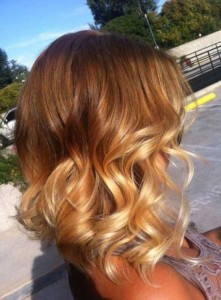 Ombre with Short Hair 2015
