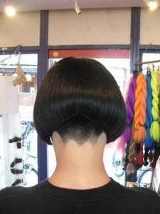 Best Shaved Nape Bob Haircut