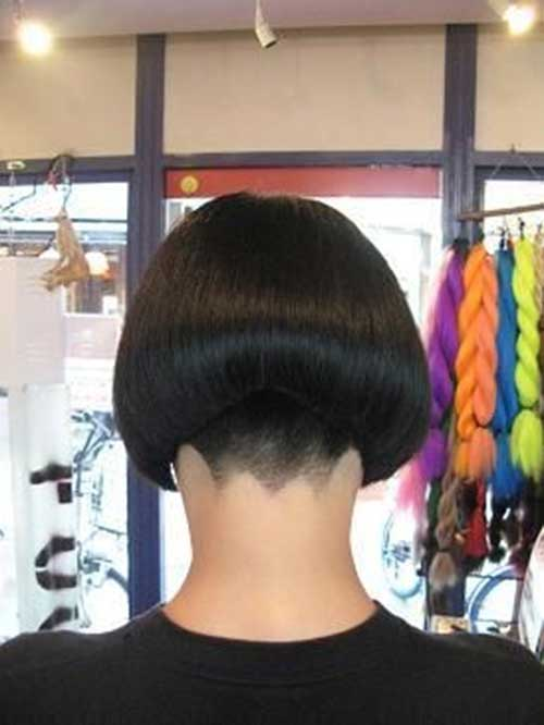 Best Shaved Nape Bob Haircut