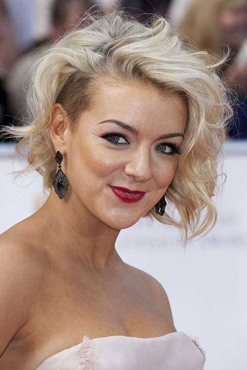Sheridan Smith Shaved Hair