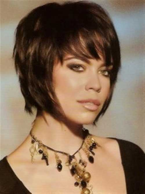 Short Bob Funky Hairstyle