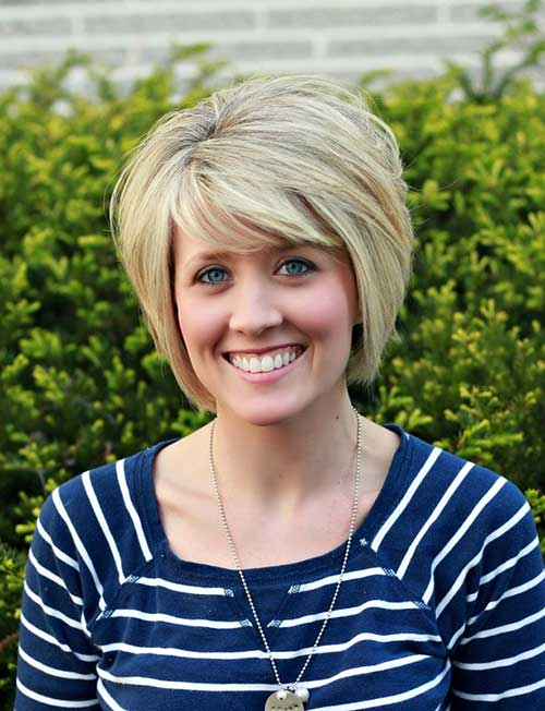 Short Bob Hairstyles for Thick Hairdo 2014-2015
