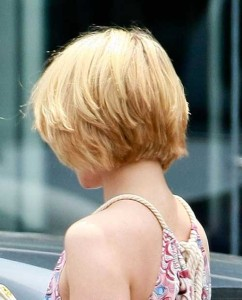 Short Hairstyles From the Back View