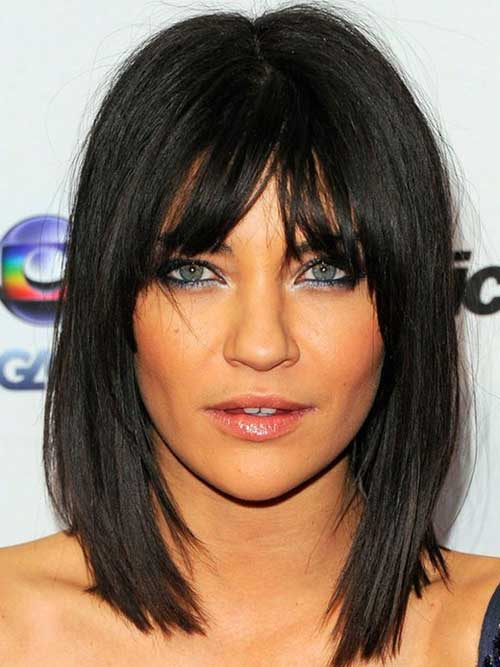 Shoulder Length Mid Bob Hairstyles