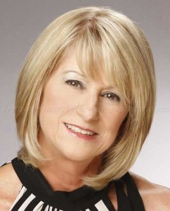 Shoulder Length Layered Hair for Older Woman Hairstyles