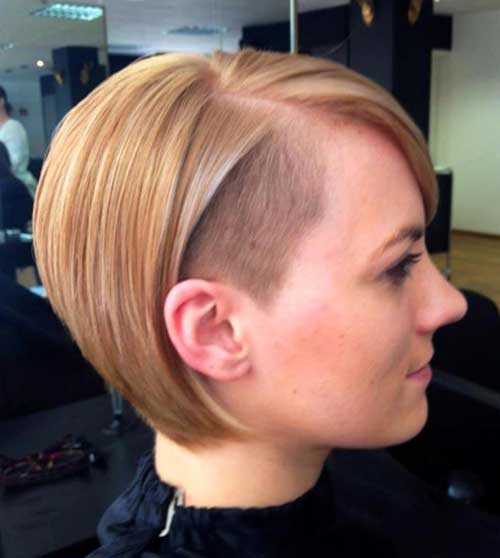 Best Side Shaved Nice Bob