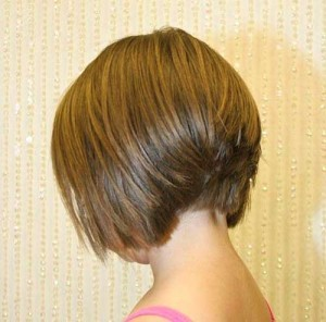 Stacked Bob Haircut Back View