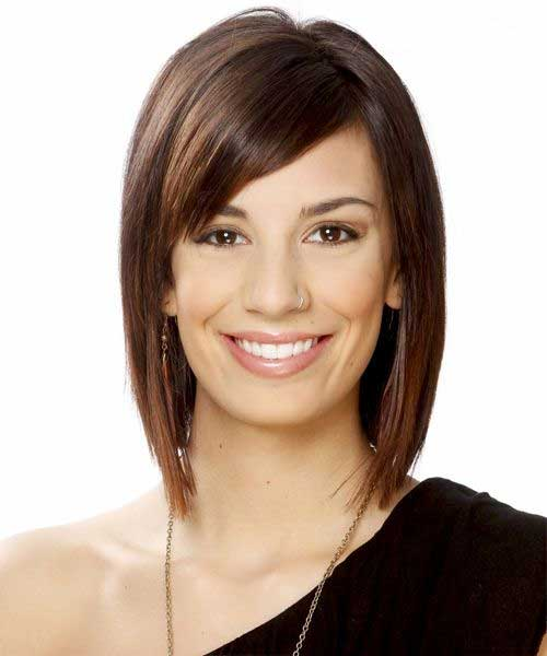 Best Straight Bob with Side Bangs