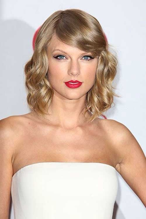 Taylor Swift Bob Hairstyle for Lady