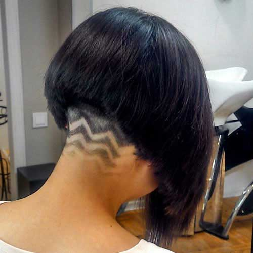 Undercut Designs for Women Shaved Bob