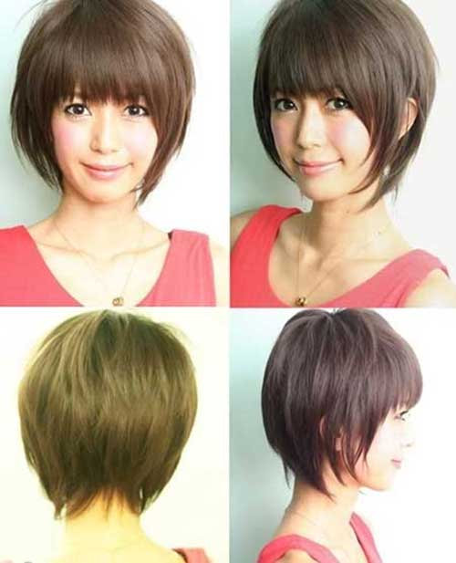 Asian Girl Short Bob Haircuts