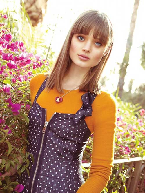 Bella Heathcote Bob Hair with Bangs