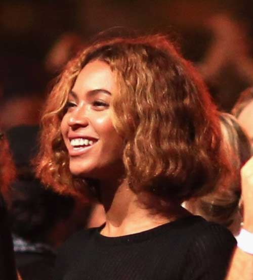 Beyonce Short Hairstyle