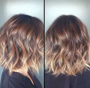 Brunette Ombre Bob Hairstyles