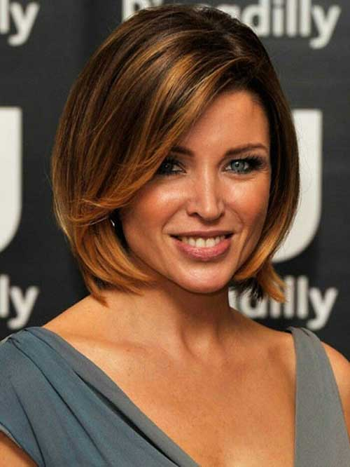 Celebrity Short Bobbed Hair