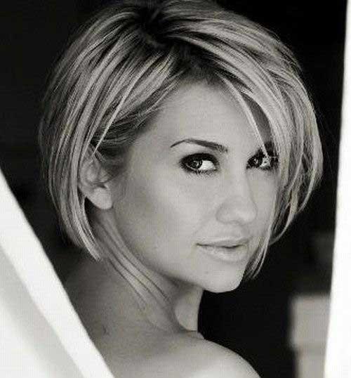 Chelsea Kane Bobbed Haircuts