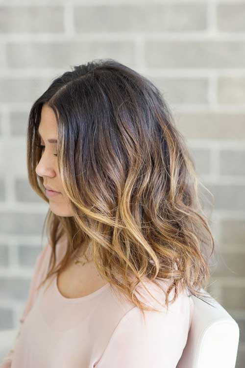 Dark Bob Ombre Hairstyles