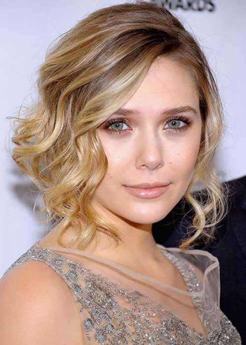 Elizabeth Olsen Bob Haircut