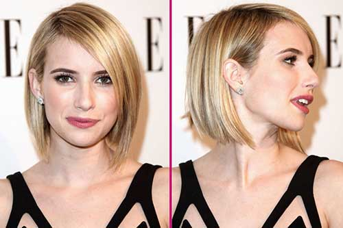 Emma Roberts Short Haircuts