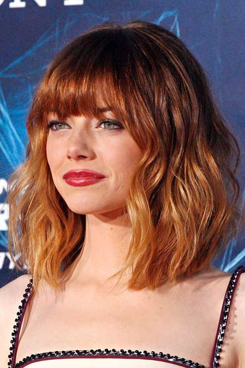 Best Ginger Ombre Bob