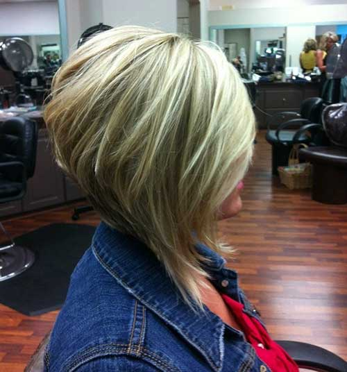 Highlighted Layered Bob Pictures