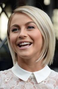 Julianne Hough Straight Hair