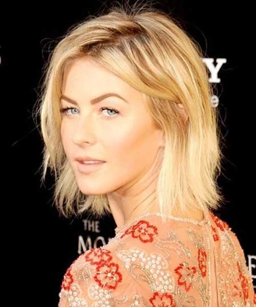 Julianne Hough Short Medium Hairstyles