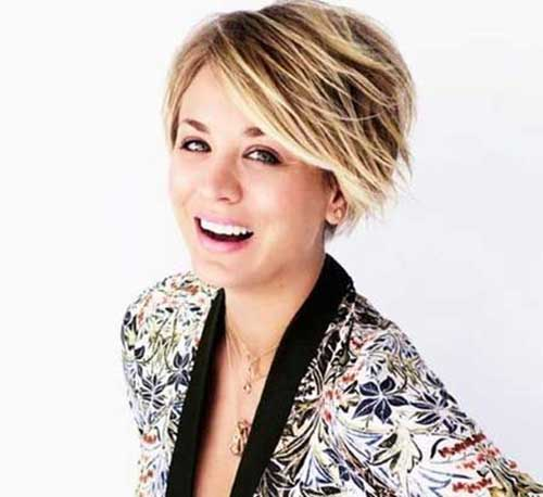 Kaley Cuoco Bob Haircuts