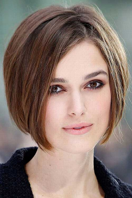 Keira Knightley Graduated Bob Hairstyles